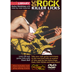 50 Rock Killer Licks (DVD)