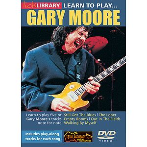 Learn to Play Gary Moore (DVD)