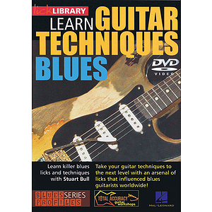 Learn Guitar Techniques: Blues (DVD)