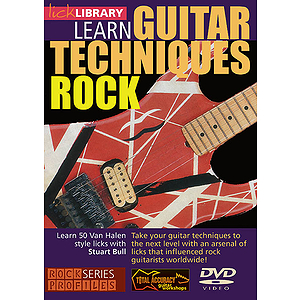 Learn Guitar Techniques: Rock (DVD)