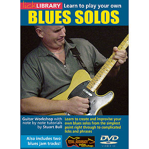 Learn to Play Your Own Blues Solos (DVD)