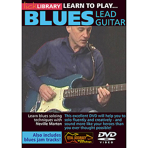 Learn to Play Blues Lead Guitar (DVD)