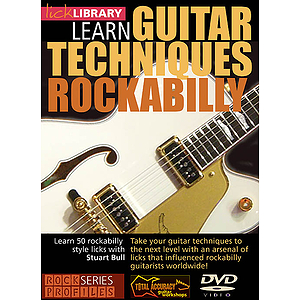 Learn Guitar Techniques: Rockabilly (DVD)
