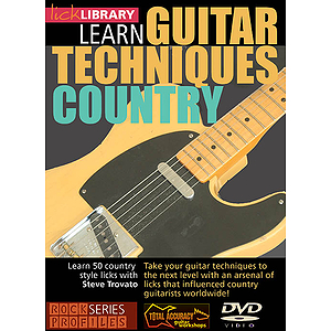 Learn Guitar Techniques: Country (DVD)