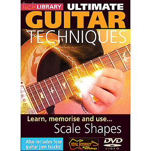 Learn, Memorize and Use Scale Shapes (DVD)
