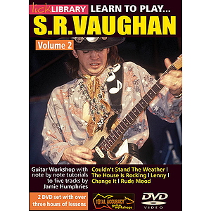Learn to Play Stevie Ray Vaughan Guitar Technique (DVD)