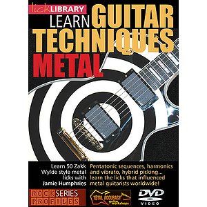 Learn Guitar Techniques: Metal (DVD)