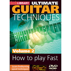 How to Play Fast - Volume 2 (DVD)