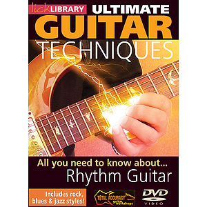 All You Need to Know About Rhythm Guitar (DVD)