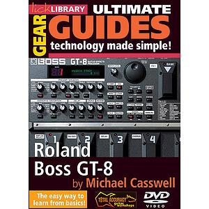Roland Boss GT-8 (DVD)
