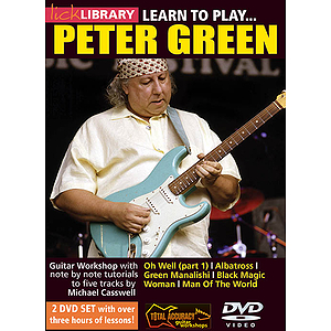 Learn to Play Peter Green (DVD)