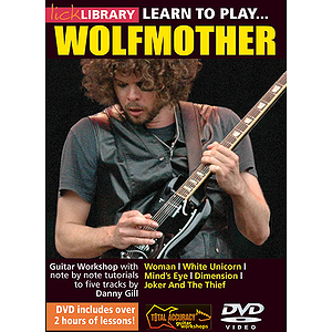 Learn to Play Wolfmother (DVD)