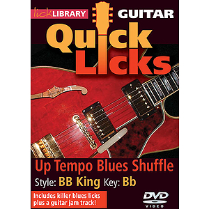 Up Tempo Blues Shuffle - Quick Licks (DVD)