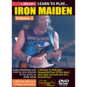 Learn to Play Iron Maiden (DVD)