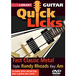Fast Classic Metal - Quick Licks (DVD)