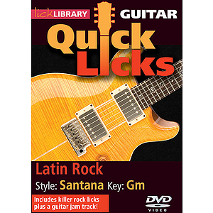 Latin Rock - Quick Licks (DVD)