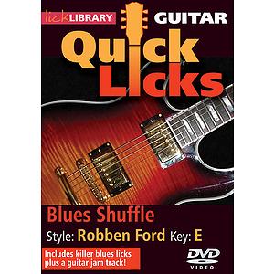 Blues Shuffle - Quick Licks (DVD)
