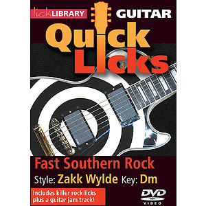 Fast Southern Rock - Quick Licks (DVD)