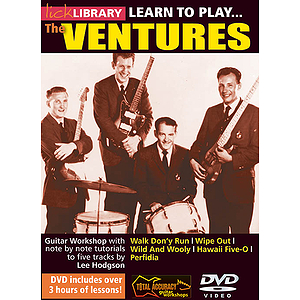 Learn to Play The Ventures (DVD)
