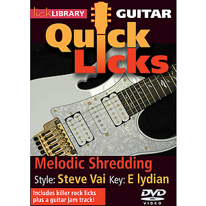 Melodic Shredding - Quick Licks (DVD)