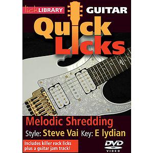 Melodic Shredding - Quick Licks (DVD)