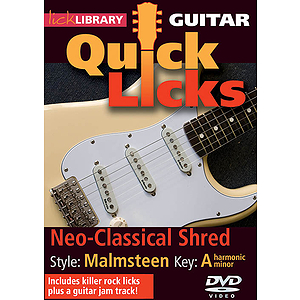 Neo-Classical Shred - Quick Licks (DVD)