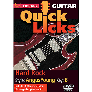 Hard Rock - Quick Licks (DVD)