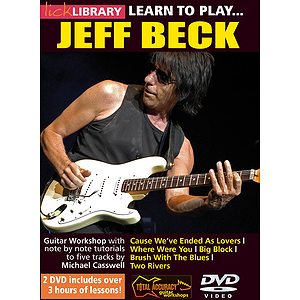 Learn to Play Jeff Beck (DVD)