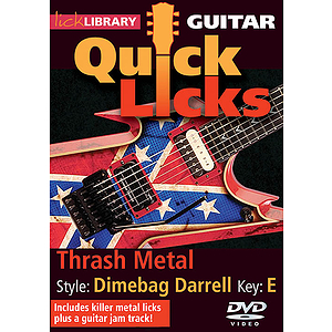 Thrash Metal - Quick Licks (DVD)