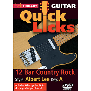 12-Bar Country Rock - Quick Licks (DVD)