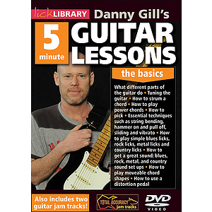 Danny Gill's 5-Minute Guitar Lessons (DVD)