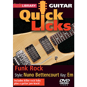 Funk Rock - Quick Licks (DVD)