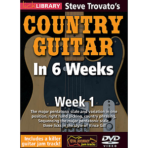 Steve Trovato&#039;s Country Guitar in 6 Weeks (DVD)