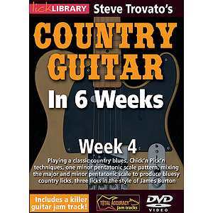 Steve Trovato's Country Guitar in 6 Weeks (DVD)