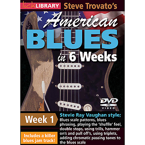 Steve Trovato&#039;s American Blues in 6 Weeks (DVD)