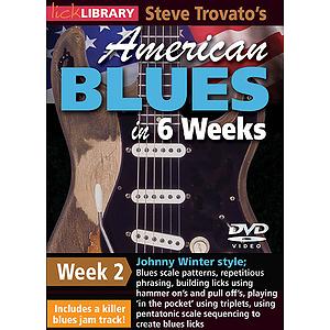 Steve Trovato's American Blues in 6 Weeks (DVD)
