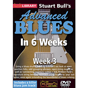 Stuart Bull's Advanced Blues in 6 Weeks (DVD)