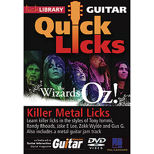 Killer Metal Licks (The Wizards of Oz!) - Quick Licks (DVD)