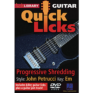 Progressive Shredding - Quick Licks (DVD)
