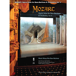 Mozart Opera Arias for Bass Baritone and Orchestra - Vol. II