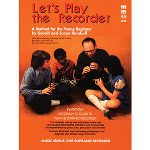 Let's Play the Recorder: Beginning Children's Method