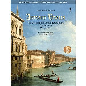 Vivaldi - Two Concerti for Guitar (Lute) & Orchestra: C Major, RV425 and D Major, RV93