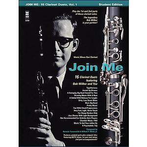Bob Wilbur - Join Me: 16 Clarinet Duets