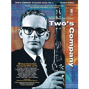 Bob Wilbur - Two's Company: 16 Clarinet Duets