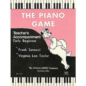 The Piano Game - Teacher Accompaniment (Book 1)