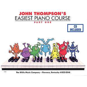 John Thompson's Easiest Piano Course - Part 1 - Book/CD Pack