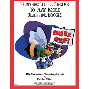Teaching Little Fingers to Play More Blues and Boogie - Book only