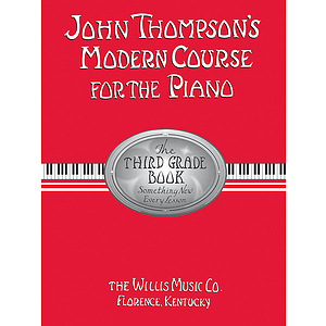 John Thompson&#039;s Modern Course for the Piano - Third Grade (Book Only)