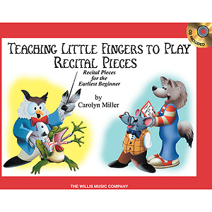 Teaching Little Fingers to Play Recital Pieces - Book/CD