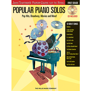 Popular Piano Solos - Grade 1 - Book/CD Pack